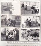 Bnk foto - Lot 6  fotografii Bucuresti 1962-1963, Alb-Negru, Cladiri, Romania de la 1950