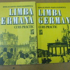 Limba germana curs practic 2 volume E. Savin I. Lazarescu Bucuresti 1992 - Curs Limba Germana