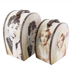 Juliana Living Acasă Depozitare Set 2 Oval Audrey / Marilyn - Revista moda