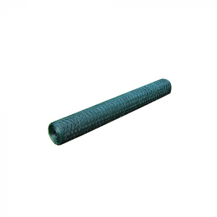 Plasa gard cu izola?ie PVC 1 m x 25 m, grosime 1 mm foto mare