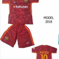 ECHIPAMENTE FOTBAL BARCELONA - MESSI, COPII 4/14 ANI, MODEL 2018 - Set echipament fotbal Nike, Marime: XXL, XL, L, M, S