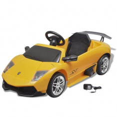 Mașină electrică ride-on Lamborghini Murcielago LGO LP 670-4SV galben