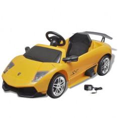 Mașină electrică ride-on Lamborghini Murcielago LGO LP 670-4SV galben - Pipe bujii Moto