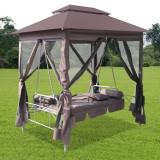Pavilion cu balansoar, Cafeniu - Pavilion gradina