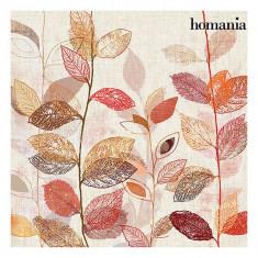 Tablou frunze roșii by Homania - Rama Tablou