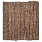 Gard din scoarță 400 x 100 cm