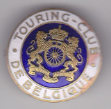Insigna  Touring Club  De Belgique