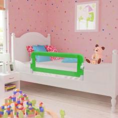 Apărătoare de pat pentru copii mici, 102 x 42 cm, verde - Protectie patut