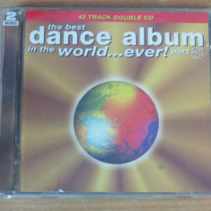 The Best Dance Album in the Volume 8 (2 CDs) Sash!, Aqua, Blondie - Muzica Dance virgin records