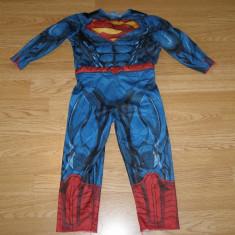Costum carnaval serbare superman pentru copii de 2-3 ani, Marime: Masura unica, Culoare: Din imagine
