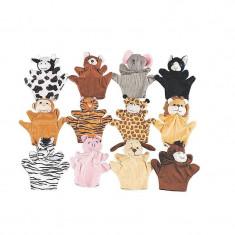 12 x Animal Marionete de mână - Hrana caini