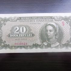 Bancnota Romania 20 lei 1950 - Bancnota romaneasca