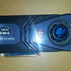 Shaphire HD 6850 toxic 1gb ddr5 256 bits direct x11 - Placa video PC Sapphire, PCI Express, Ati