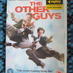 THE OTHER GUYS (1 DVD ORIGINAL, FILM COMEDIE cu WILL FERRELL - IN TIPLA!!!)