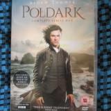 POLDARK (Complete series 1 - 3 DVD-uri ORIGINALE - STARE IMECABILA!) - Film serial, Drama, Engleza