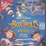 Film Blu Ray 3D: The Boxtrolls ( sigilat - dublat in romana ) - Film animatie