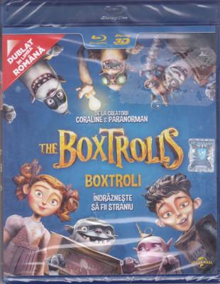 Film Blu Ray 3D: The Boxtrolls ( sigilat - dublat in romana ) foto