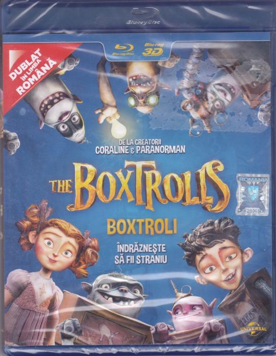 Film Blu Ray 3D: The Boxtrolls ( sigilat - dublat in romana )