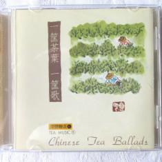 "CD Muzica Ambientala Chineza ""TEA MUSIC. Chinese Tea Ballads"""