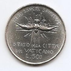 Vatican 500 Lire 1978 - (Second 1978 Sede Vacante), Argint 11g/835, KM-141, Europa
