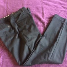 Pantaloni dama MANGO, mas. L, Marime: L, Culoare: Negru, Lungi, Bumbac