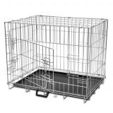 Cușcă câini din metal pliabilă M - Cusca, cotet, tarc si colivie