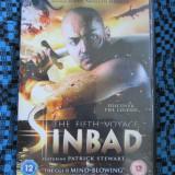 SINBAD THE FIFTH VOYAGE (1 DVD ORIGINAL, FILM - CA NOU!!!) - Film animatie, Engleza