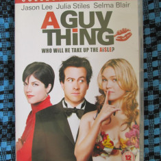 A GUY THING (1 DVD ORIGINAL, FILM COMEDIE cu JASON LEE - CA NOU!!!), Engleza