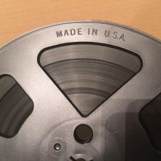 Banda Magnetofon  - made in USA in cutie - diametru rola 18 cm - ca Noua