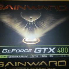 Gainword GTX 480 1536 mb ddr5 384 bits direct x11 - Placa video PC Gainward, PCI Express, 1.5 GB, nVidia
