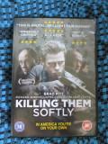 KILLING THEM SOFTLY (1 DVD ORIGINAL, FILM cu BRAD PITT - CA NOU!!!)