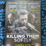 KILLING THEM SOFTLY (1 DVD ORIGINAL, FILM cu BRAD PITT - CA NOU!!!) - Film thriller, Engleza