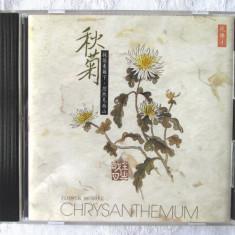 """CD Muzica Terapeutica Chineza """"Flower Music 4 - CHRYSANTHEMUM"""". Toamna - Muzica Ambientala"""