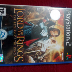 Joc PS2 The Lord of the rings-the return of the King - Jocuri PS2 Ea Games