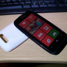 Nokia Lumia 610 Negru - Telefon mobil Nokia Lumia 610, Neblocat