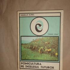 Pomicultura pe intelesul tuturor 159pag/82figuri/an 1983- Negrila Aurel - Carti Agronomie