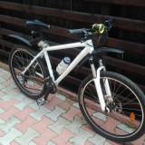 B'twin Rockrider 5.3 - Mountain Bike Rockrider, 17 inch, 26 inch, Numar viteze: 27