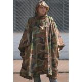 MFH Pelerina Militara US Poncho Woodland 08524T marime universala