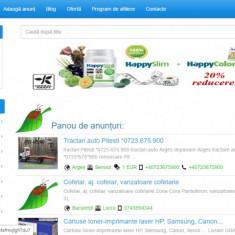 Website de anunturi si publicitate - Vanzare publicitate