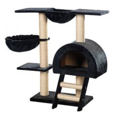Ansamblu pentru pisici, pluș bleumarin, 105 cm - Pisica de vanzare