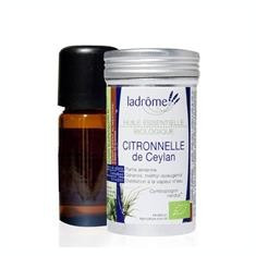 Ulei Esential de Citronelle Ladrome 10ml Cod: 3486330038413 - Ulei aromaterapie