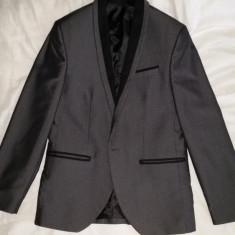 Costum Sentierri - Sacou + pantaloni, nr 44, 70% lana 30% vascoza
