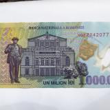 1000000 lei polymer AUNC - Bancnota romaneasca