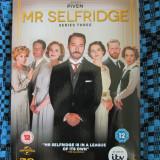 MR SELFRIDGE (Complete series 3 - 3 DVD-uri ORIGINALE - STARE IMECABILA!) - Film serial, Drama, Engleza