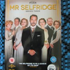 MR SELFRIDGE (Complete series 3 - 3 DVD-uri ORIGINALE - STARE IMECABILA!)