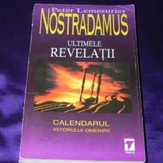 Nostradamus Ultimele revelatii - Peter Lemesurier (f0419 - Carte paranormal