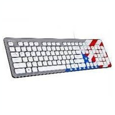 Tastatura Tracer Tastatura TRAKLA45198 , Amerikana, USB, alb