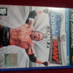 Joc PS2 Smackk Down vs Raw (WWE) 2007 de la THQ - Jocuri PS2