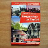 Manual limba engleza - Perspectives on English, Oxford - Certificare