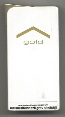 Bricheta metalica Marlboro Luxury Gold -2015 ( Made In France) foto